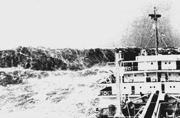 Les vagues scélérates, ou une faillite de la science  Vague_10