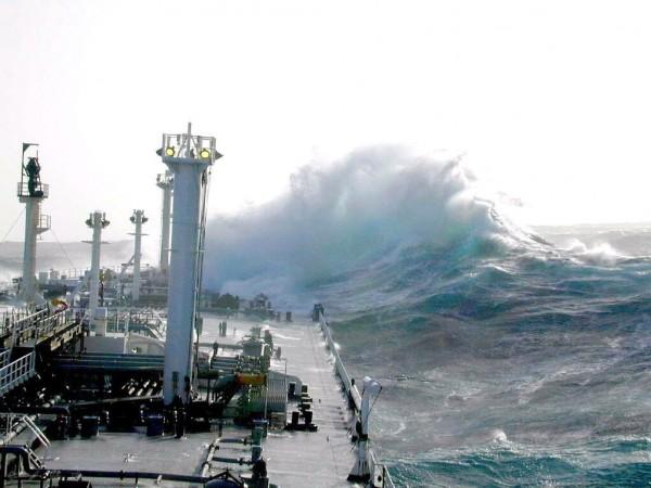 Les vagues scélérates, ou une faillite de la science  Wave-610