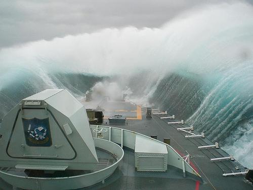 Les vagues scélérates, ou une faillite de la science  Wave610