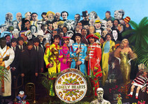 Disco Beatles autografato all'asta Beatle10