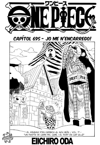 [Manga] One Piece #695 0112