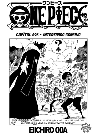 [Manga] One Piece #696 0113