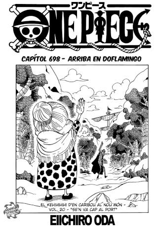 [Manga] One Piece #698 0115