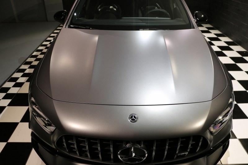Mercedes A45 S AMG con Gyeon Q2 Matte Img_0616