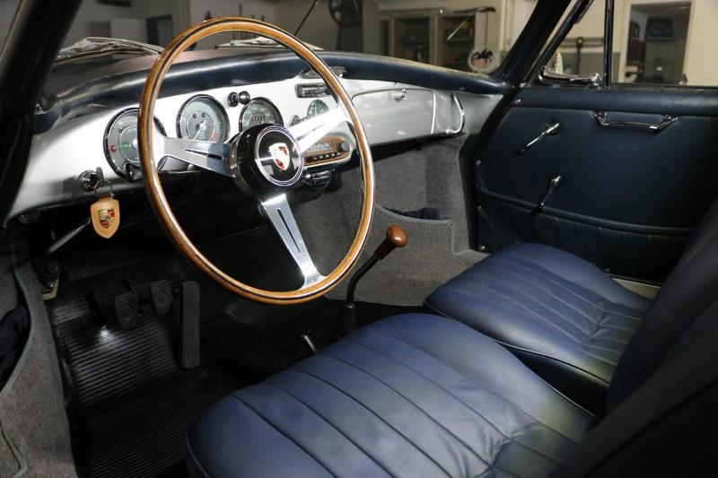 Restauro completo pellame Porsche 356 Img_7824