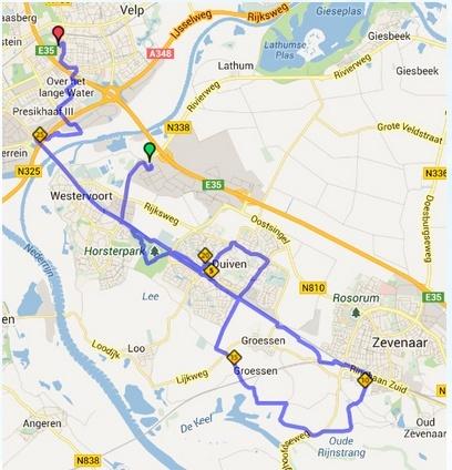 110km Larenstein Postbanklooop (Velp, NL): 28-29/9/2013 Larens11