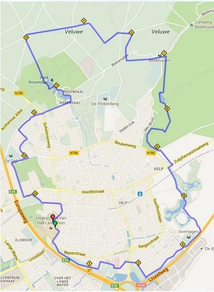 110km Larenstein Postbanklooop (Velp, NL): 28-29/9/2013 Larens13