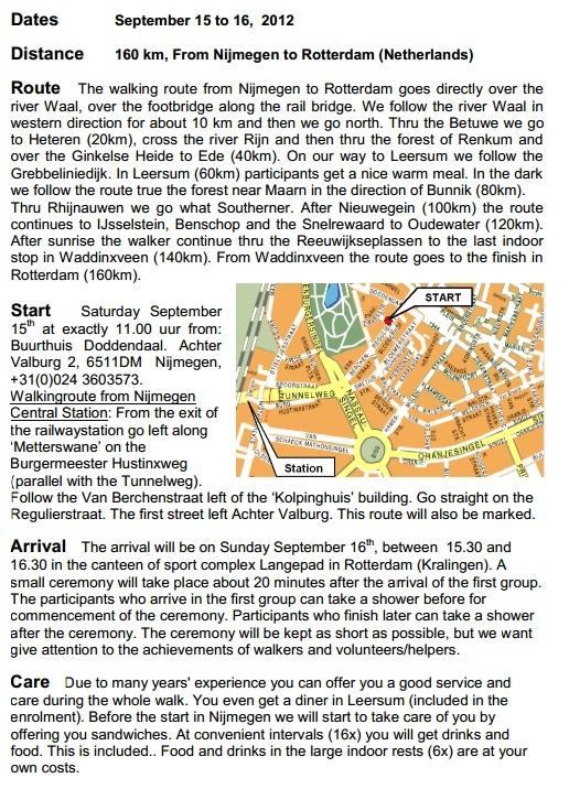 160km en ligne: Nimègue-Rotterdam: 21-22 septembre 2013 Nimagu10