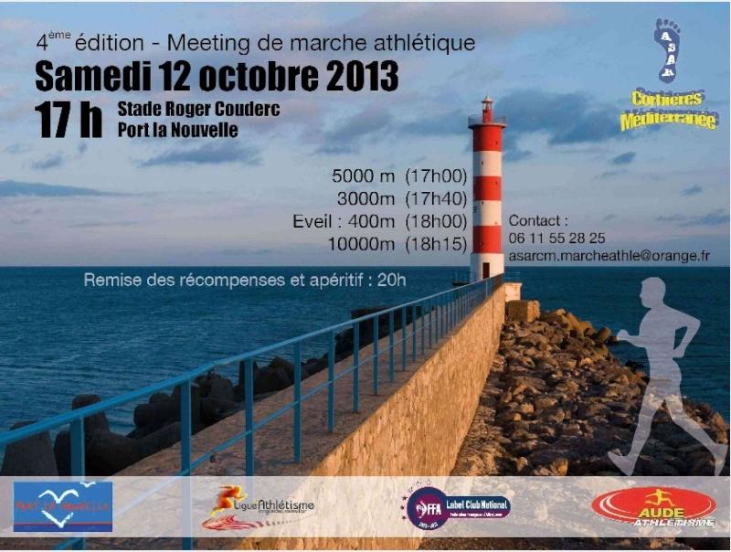 Meeting de marche athlétique de Port la Nouvelle: 12/10/2013 Port_l10