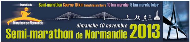 10km marche du Semi-marathon de Normandie: 10/11/2013 Semi_d10