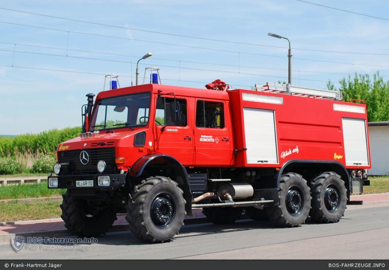 Unimog U5000 6x6  sur base axial 15968110