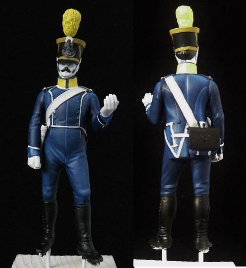 Voltigeur fourrier d'infanterie légère - 1813 001_210