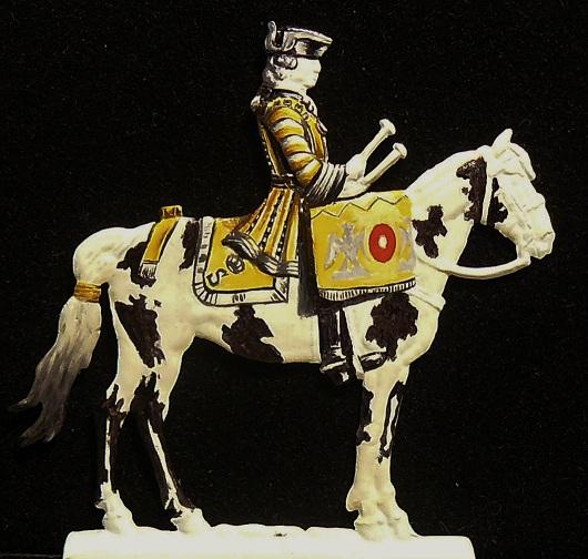 timbalier des Gardes du Corps de Stanislas Leczinski 1761 - plat 30mm 00310