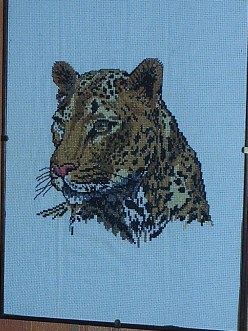 Tricot et crochet , vos réalisations ... Tigre10