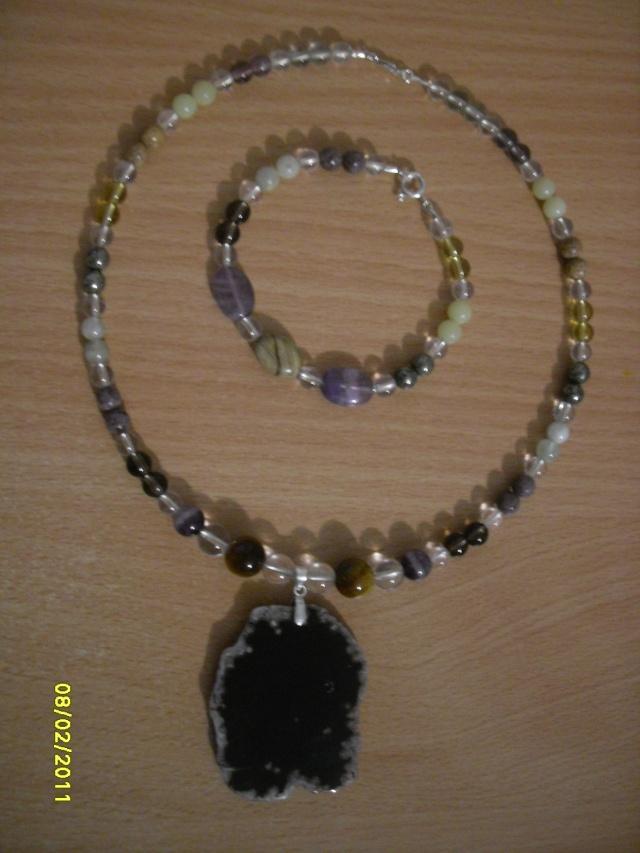 mes créations bijoux lithothérapie Sdc16022