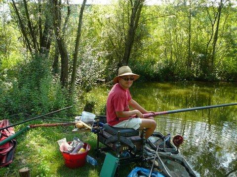 Concours individuel le 18 août sur le plan d'eau de chuzelles  P1120113