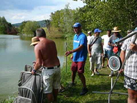 Concours individuel le 18 août sur le plan d'eau de chuzelles  P1120115
