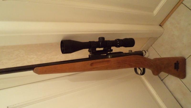 Et pourquoi pas un K31 pour chasser ??? Dsc01038