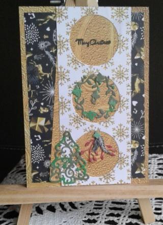 2° défi de cartes de Noël 13/11 20191112