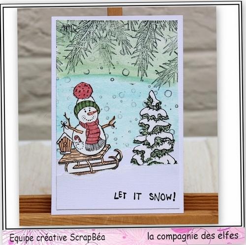 Cartes créatives de Novembre. Noel210