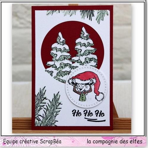 Carte gnome et lutin 3/3 Noel310