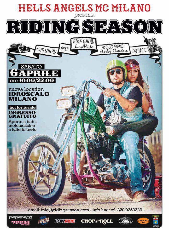 6 aprile MI - Riding Season - 22th edition A10