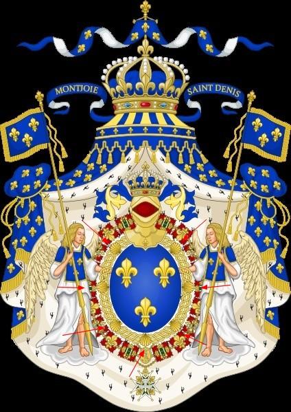 Identification des Armes de France Blason10