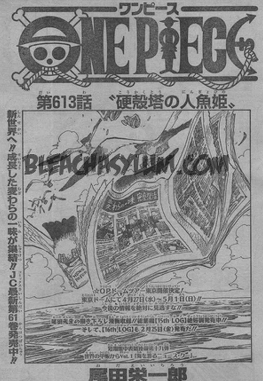 One Piece Manga 613 Spoiler Pics 0112