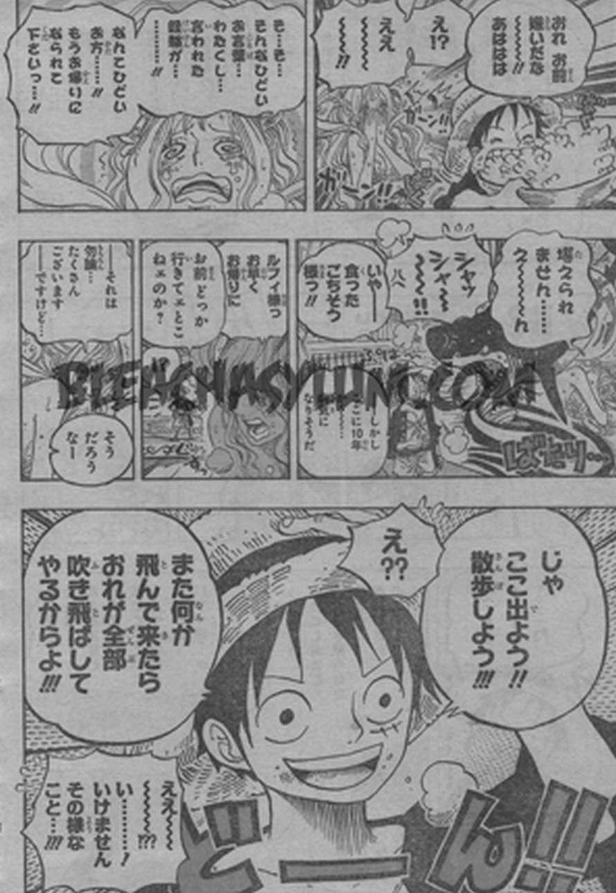 One Piece Manga 613 Spoiler Pics 0511