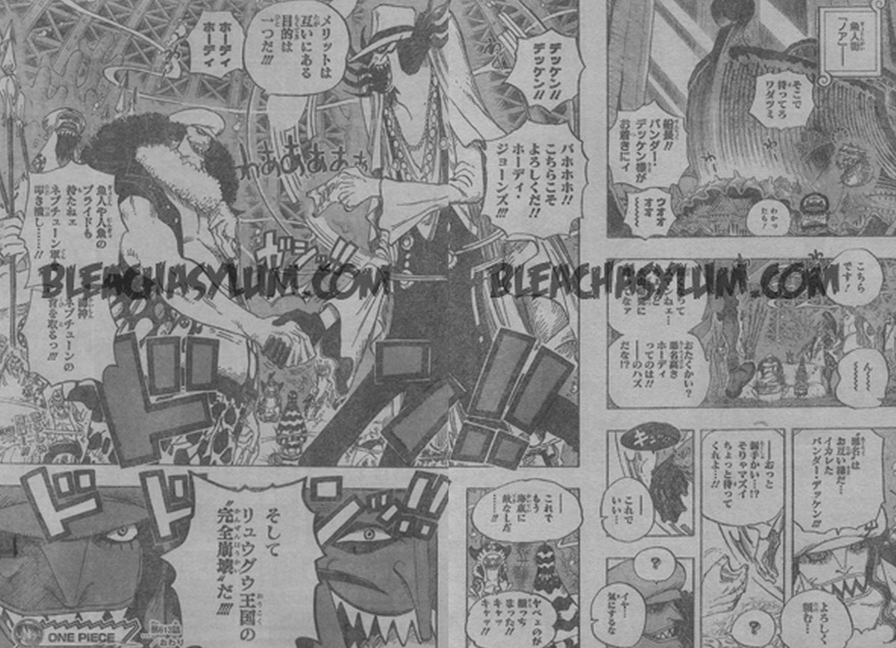 One Piece Manga 613 Spoiler Pics 0811