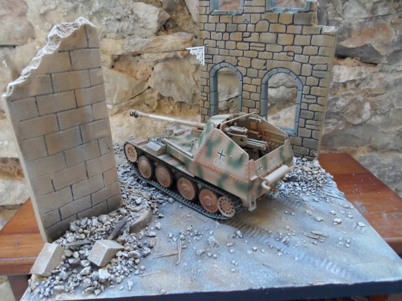 bataille de Bréville-les-Monts normandie 1944 marder III tamiya 1/35 Sam_0710