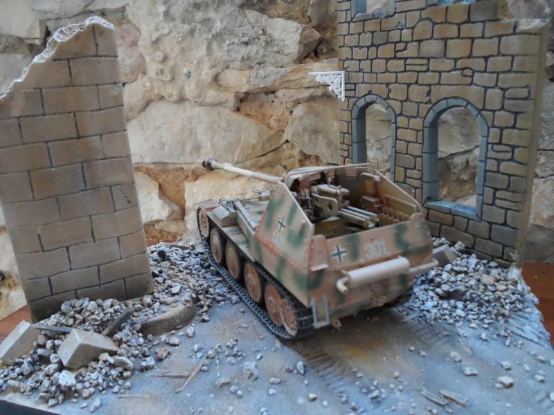 bataille de Bréville-les-Monts normandie 1944 marder III tamiya 1/35 Sam_0711
