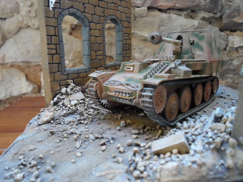bataille de Bréville-les-Monts normandie 1944 marder III tamiya 1/35 Sam_0712