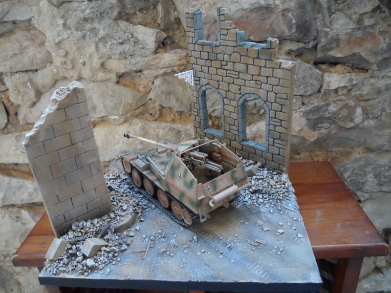 bataille de Bréville-les-Monts normandie 1944 marder III tamiya 1/35 Sam_0713