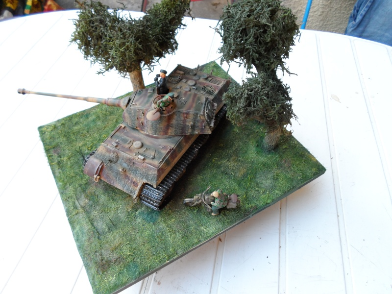 normandie 1944 tigre II porsche dragon 1/35 Sam_1018