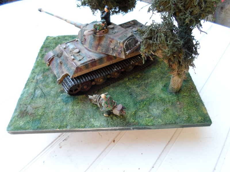 normandie 1944 tigre II porsche dragon 1/35 Sam_1019