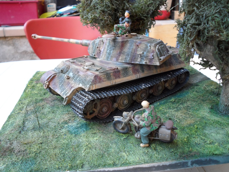 normandie 1944 tigre II porsche dragon 1/35 Sam_1020