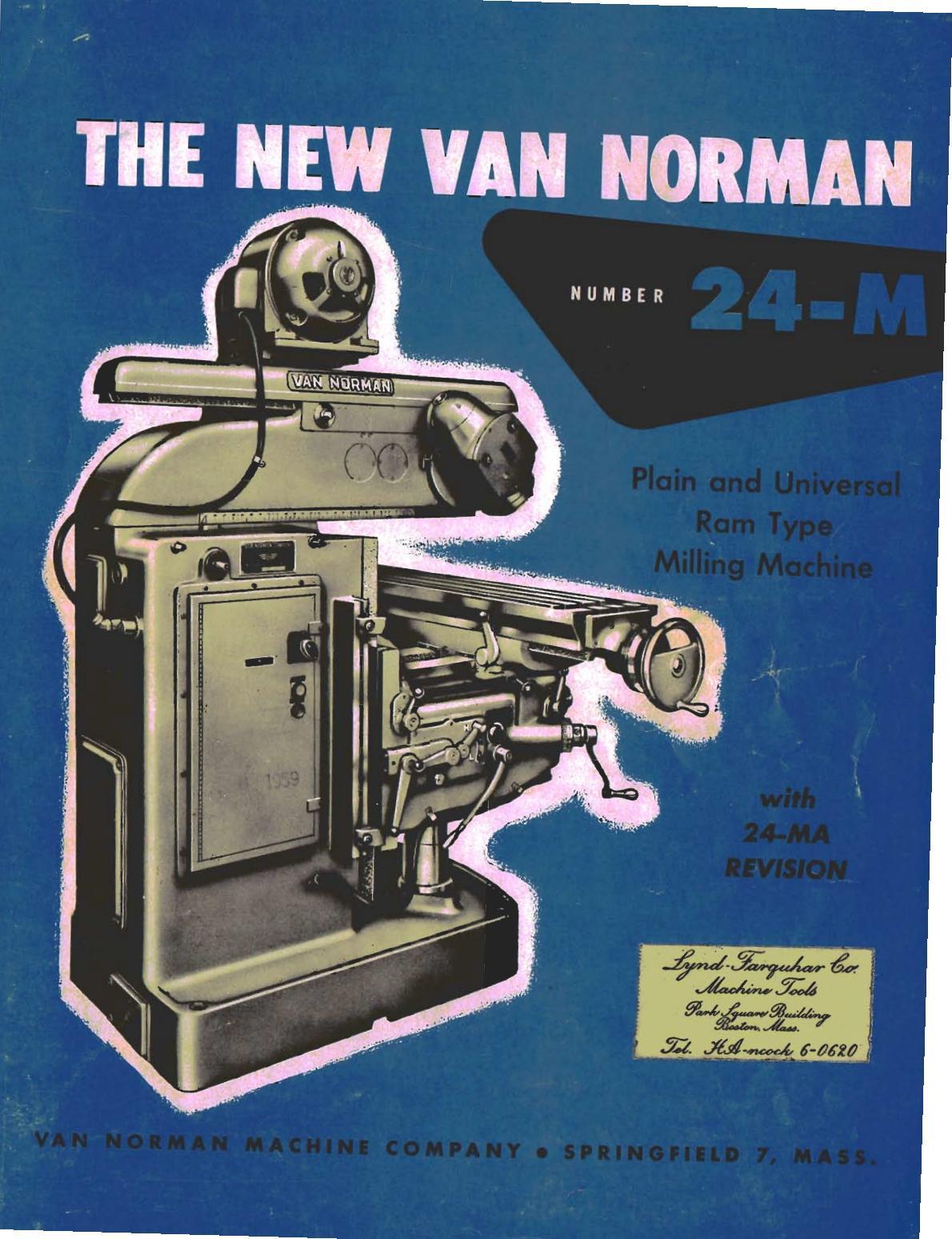 Van Norman VN 24 Uw1113