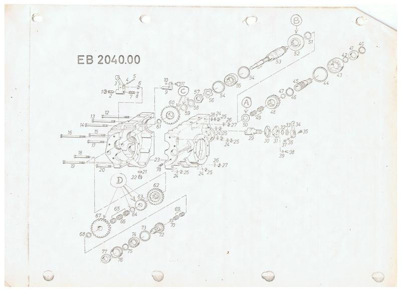 réglage des vitesses sur 2500e 00211