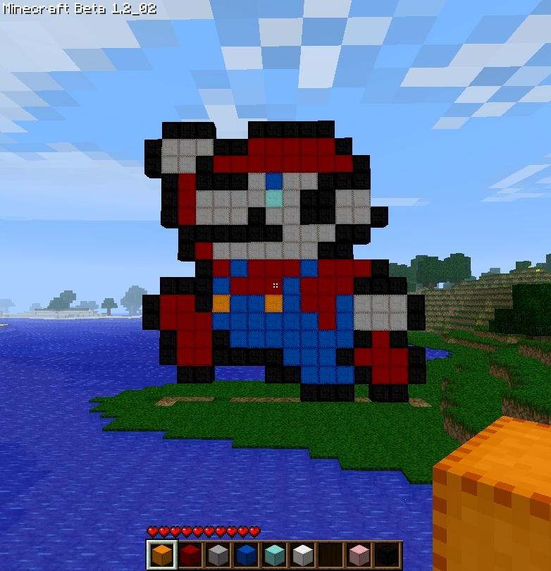 Minecraft Mario_10