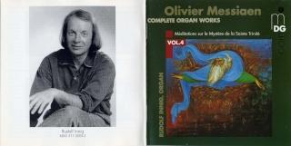 Messiaen : Oeuvres pour orgue Front_13