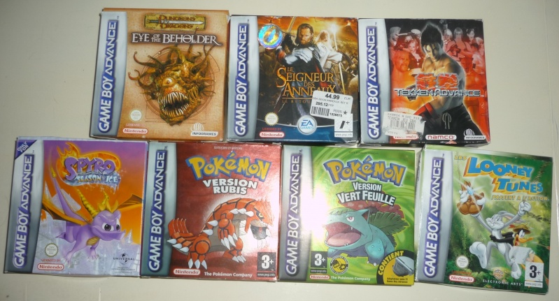 jeux psp, ps1, ps2, ds & gameboy advance P1080713