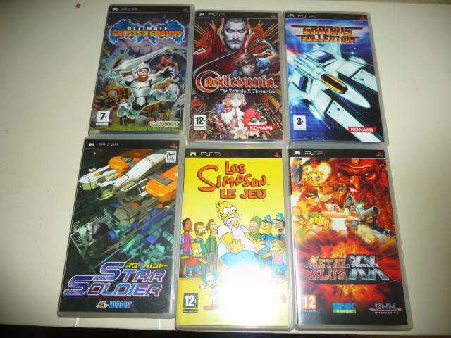 jeux psp, ps1, ps2, ds & gameboy advance P1080810