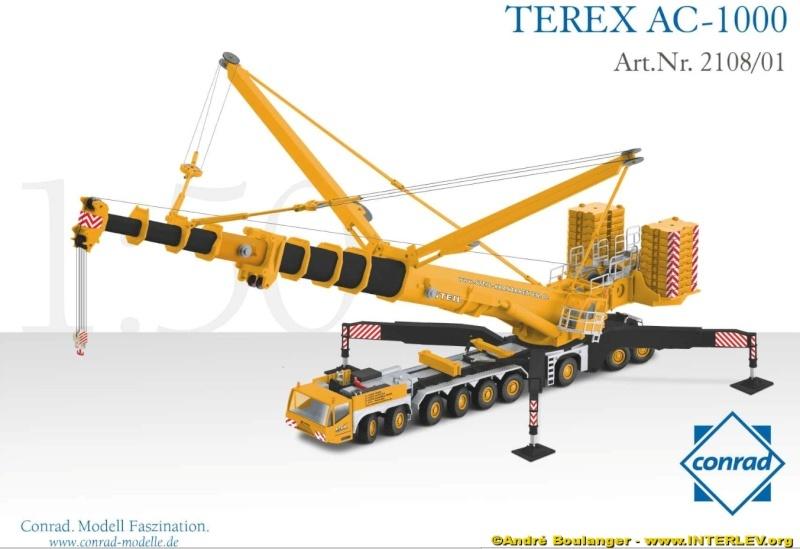 Terex AC1000 STEIL de Conrad (1/50) Ac100011
