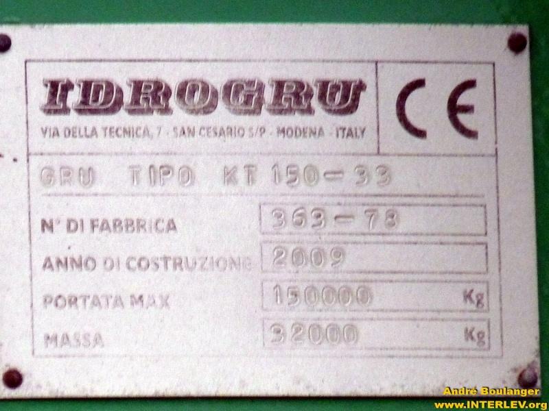 Les grues de IDROGRU (Italie) Andra123