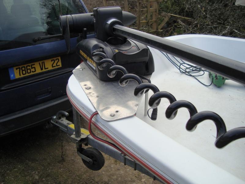 fixation moteur avant sur bateau polyester Photo_10