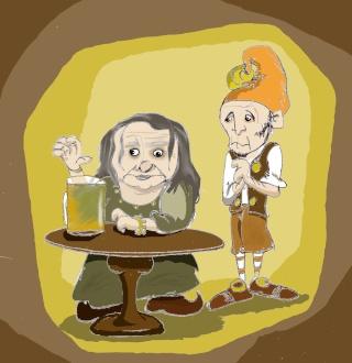 La taverne du lutin borgne et autres histoires Madium11