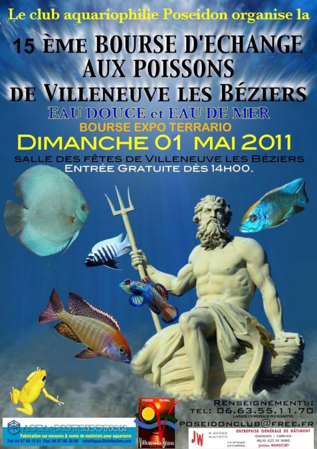 BOURSE VILLENEUVE LES BEZIERS LE 1ER MAI 2011 Affich10