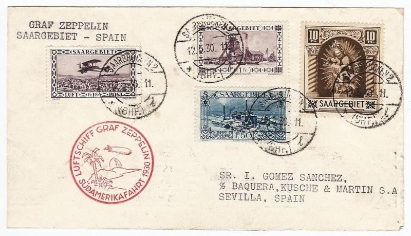 nach - Südamerikafahrt 1930, Post nach Sevilla - Seite 2 57_i_s10