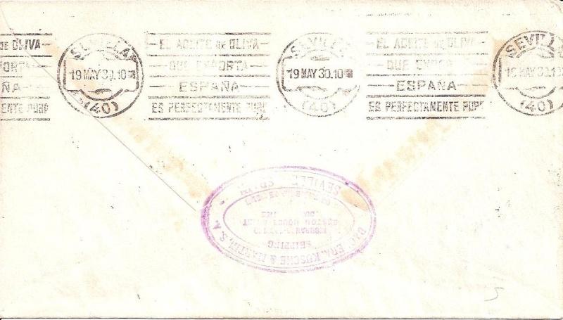 nach - Südamerikafahrt 1930, Post nach Sevilla - Seite 2 57_i_s11